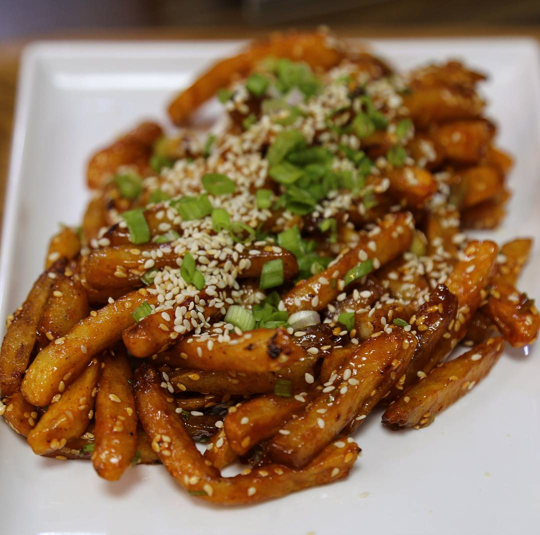 honey chilli fries